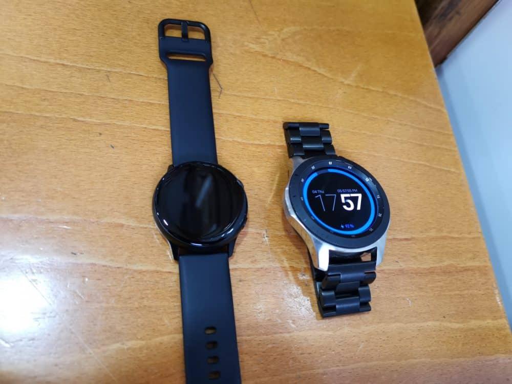 novo smartwatch samsung