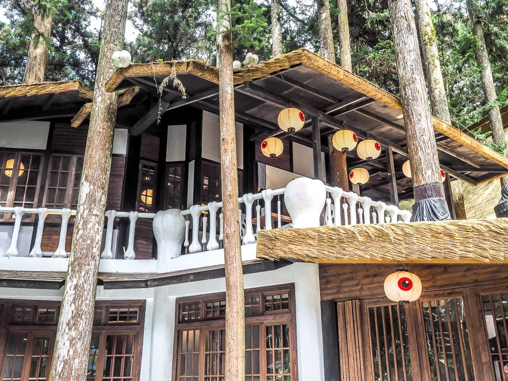 Accommodation at the Xitou Monster Village Hotel (Ming Shan Resort)