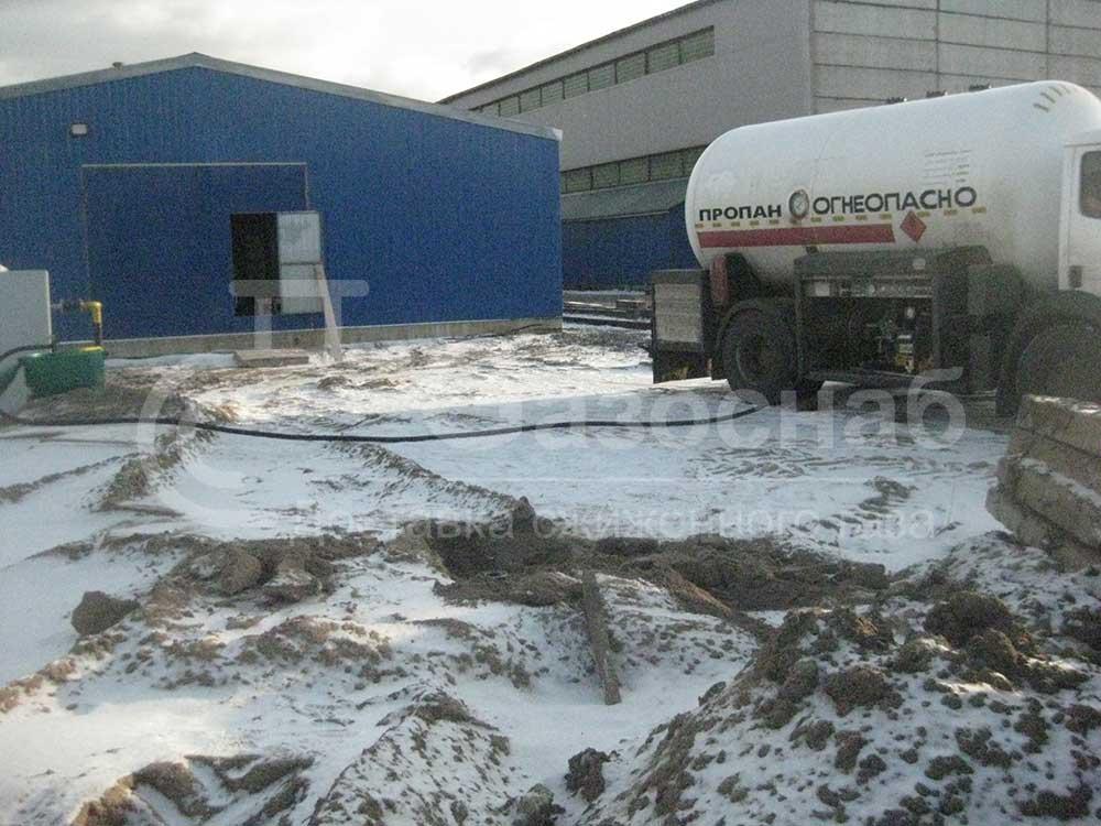 Цена заправки газгольдера в Ярославской области и Ярославле «ГАЗОСНАБ» 1