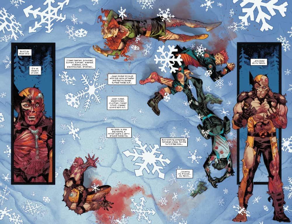 Wolverine, Benjamin Percy, Adam Kubert, Dawn of X, X-Men, Marvel Comics, Logan, X-Force