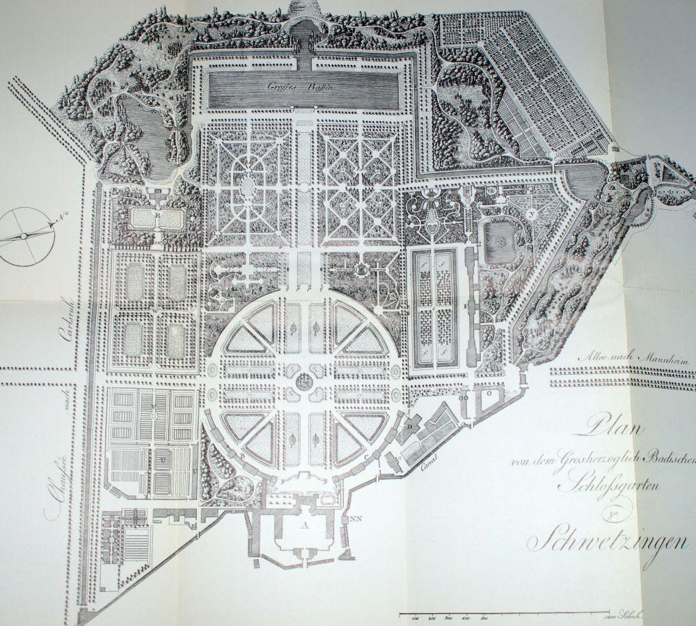Plan Schwetzingen Park