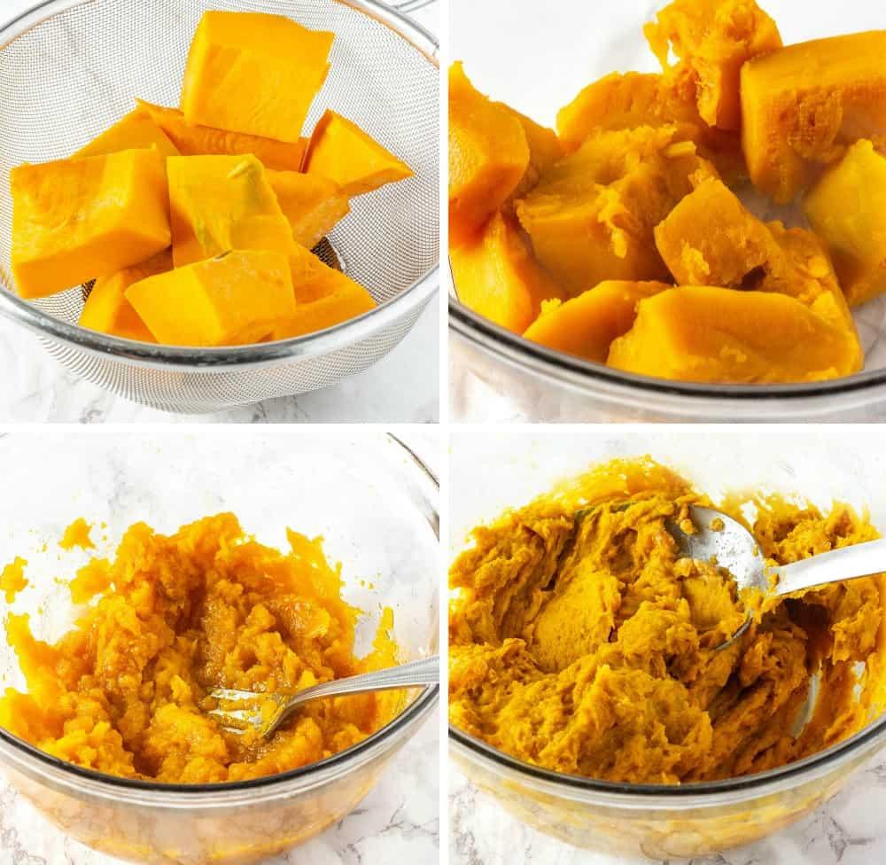 Pumpkin Fritters Steps