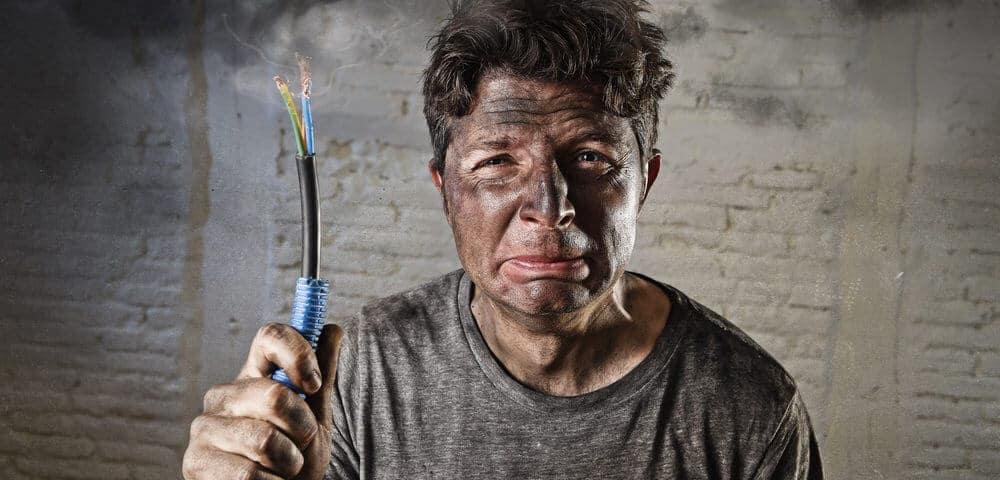 danger of DIY electrical work