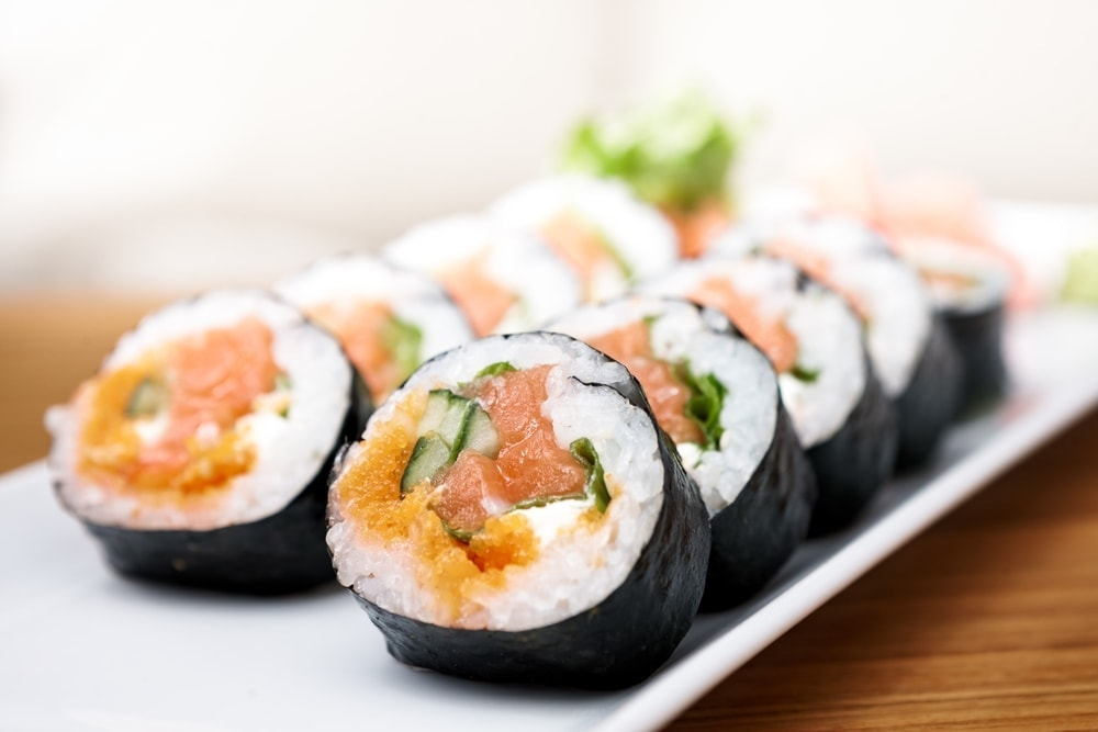 Sushi should be avoided during pregnancy