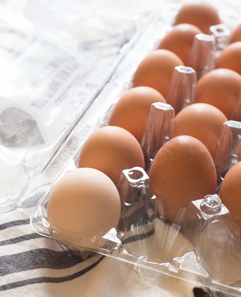 Fresh Eggs for Ham and Egg Cups