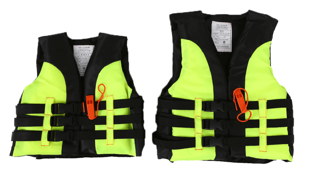 Life jacket with Survival Whistle