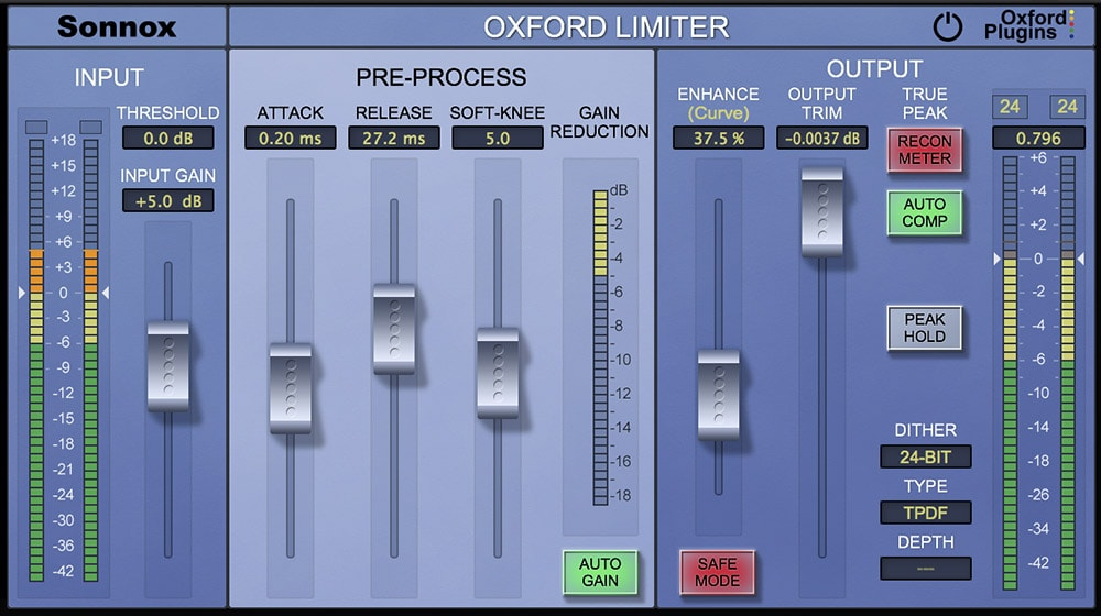 The Oxford Limiter is an essential; it gets a major refresh here.