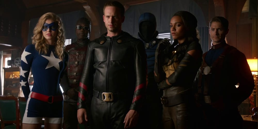 Justice Society Of America as they appeared in Legends Of Tomorrow Black Adam