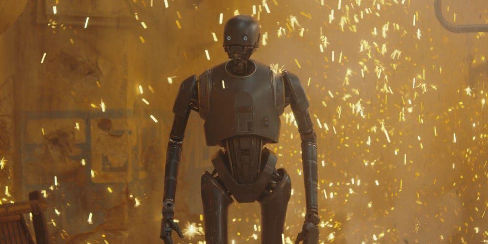 K2-SO, Rogue One, Rogue One: A Star Wars Story, Bodhi Rook, Orson Krennic, Darth Vader