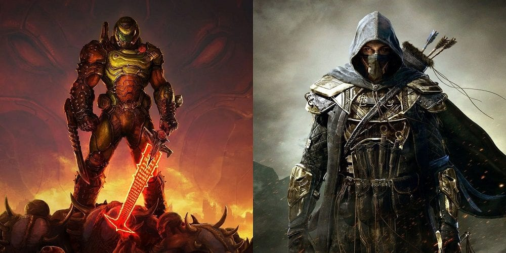 Doom Eternal And Elder Scrolls Online Are Getting Next-Gen Ports