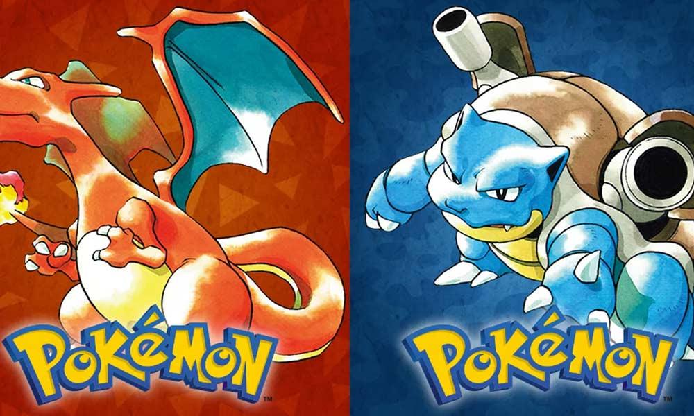 Pokemon Blue & Red - (C) Nintendo