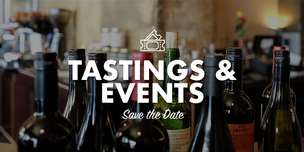 Tasting & Events - Save the Date
