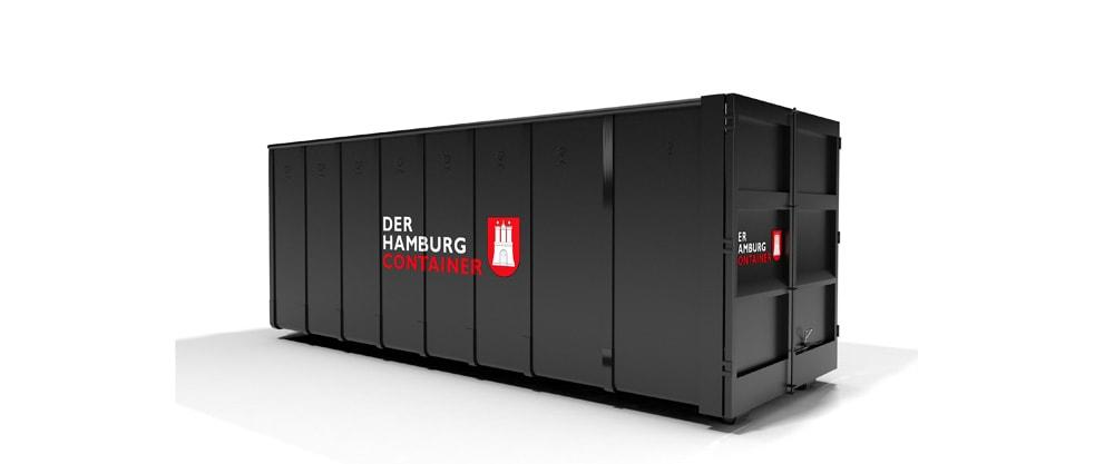 36 kubikmeter Abrollcontainer