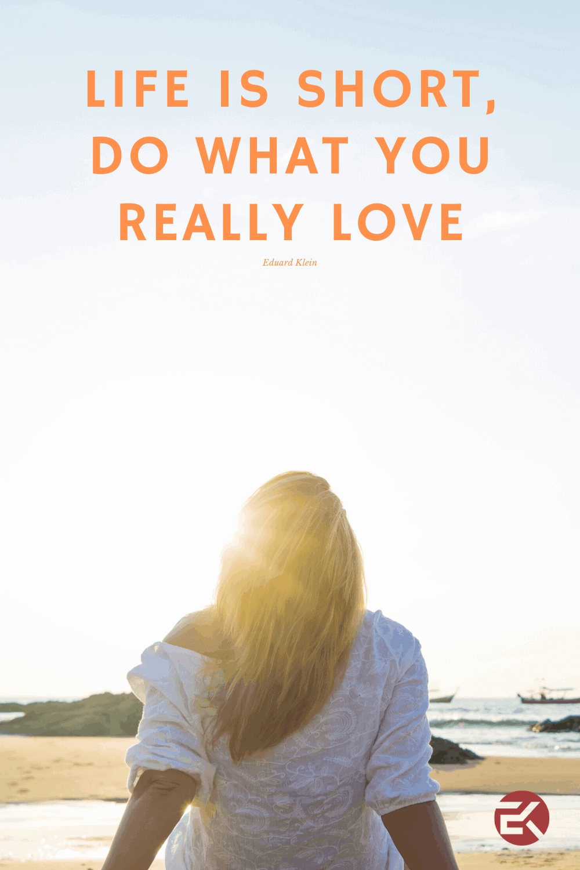 Ragioni per lasciare il tuo lavoro e unirti all'economia della tua passione