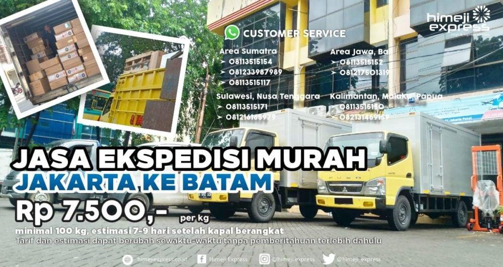 Jasa Ekspedisi Jakarta ke Batam