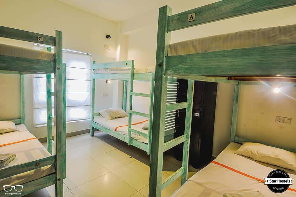 Dorm at Clock Inn kandy in Sri Lanka