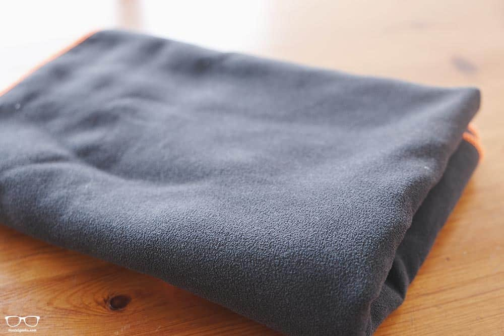 Save space packing with a quick dry towel
