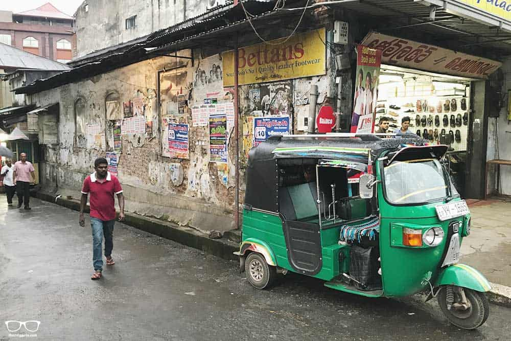 Tuk Tuks in Kandy, Sri Lanka