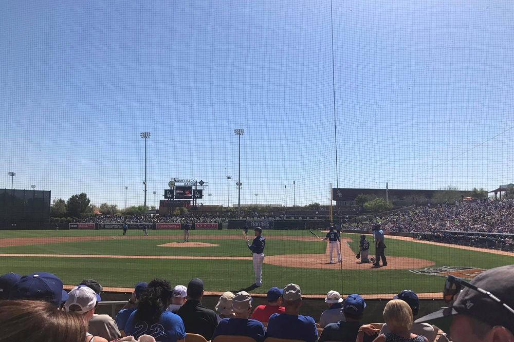 2017 Spring Training - Scottsdale, Arizona