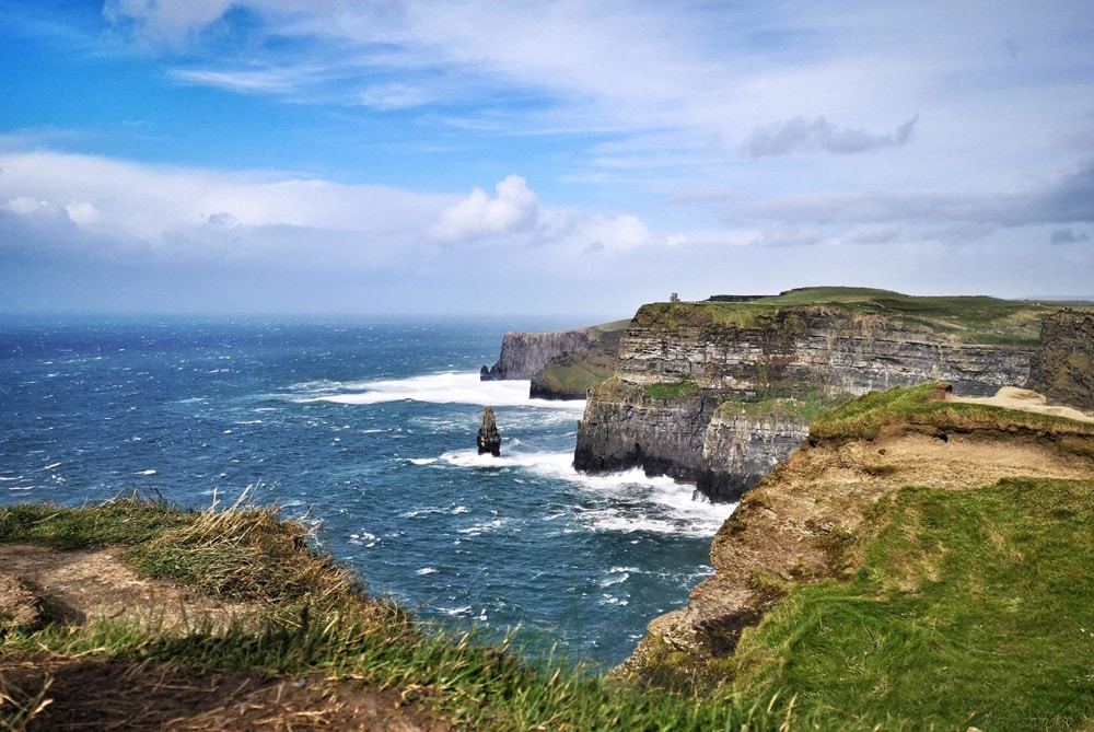The famed Cliffs of Moher - Ireland road trip ideas