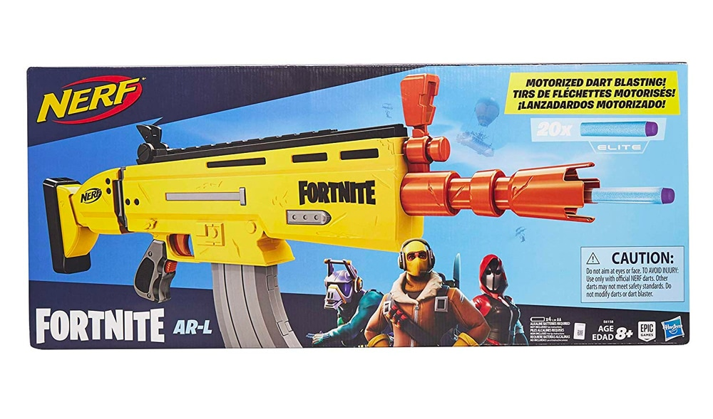 Cool replica of the Scar from Fortnite