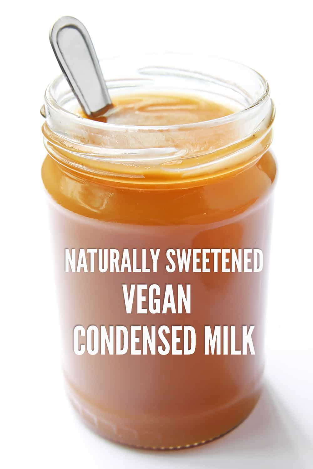 Naturally Sweetened Vegan Condensed Milk