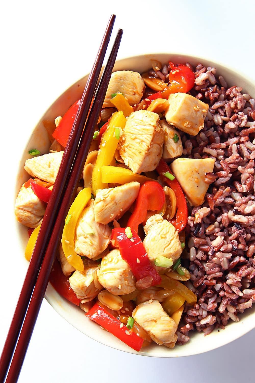 Kung Pao Chicken Stir Fry