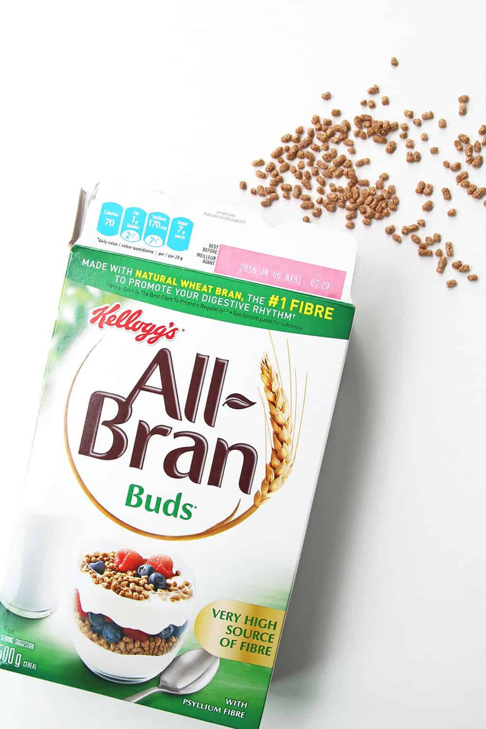 All-Bran Buds Cereal Box