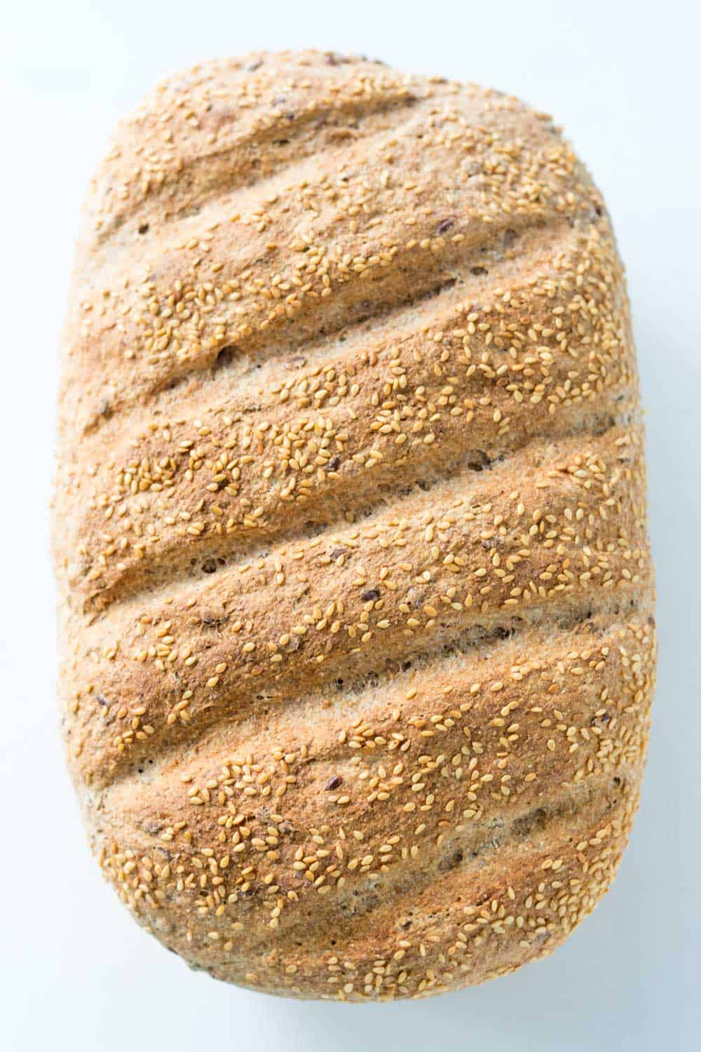 Whole Wheat Spelt Bread Loaf