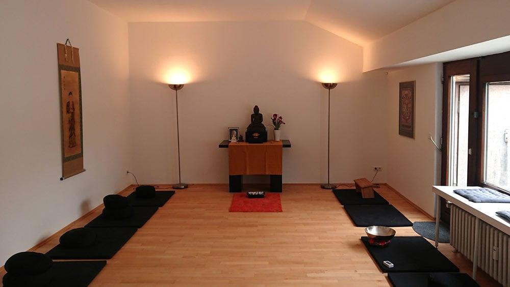 Buddha e.V. Meditationsraum