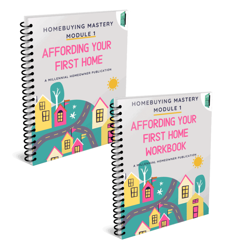 affording first home guide and workbook