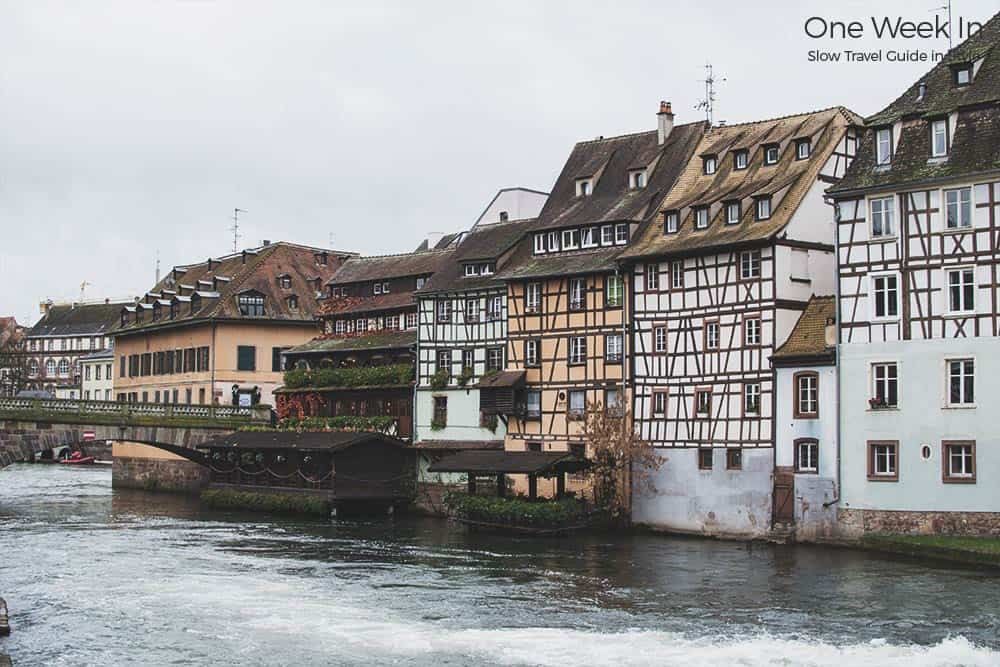Strasbourg Alsace traditional houses