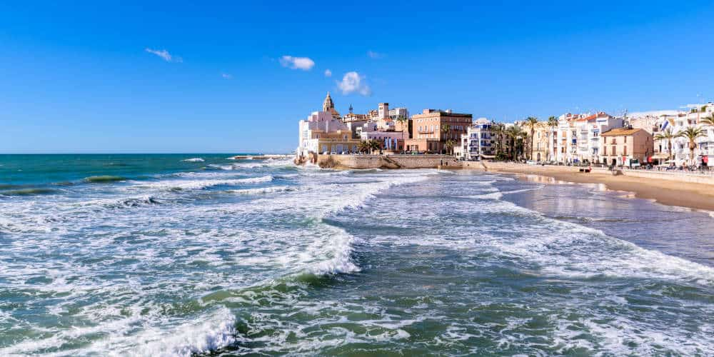 Sitges - 1 Week Spain Road Trip Itinerary and driving tips
