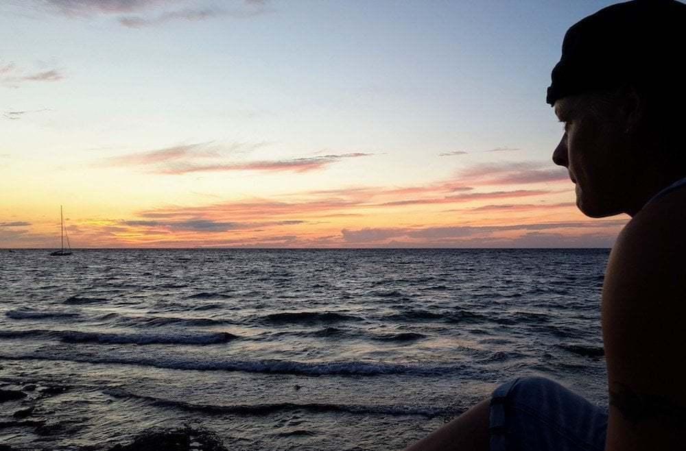 Cozumel Sunset WestSide