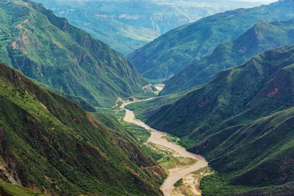 Chicamocha Canyon View
