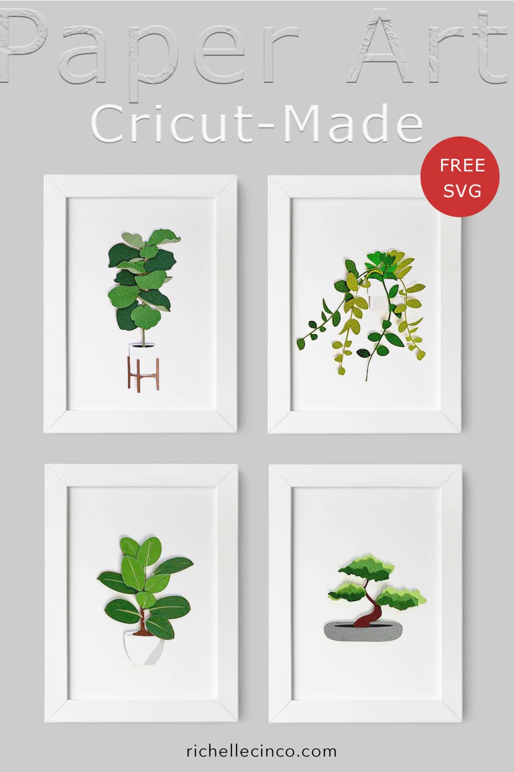 Botanical Series One In Frames