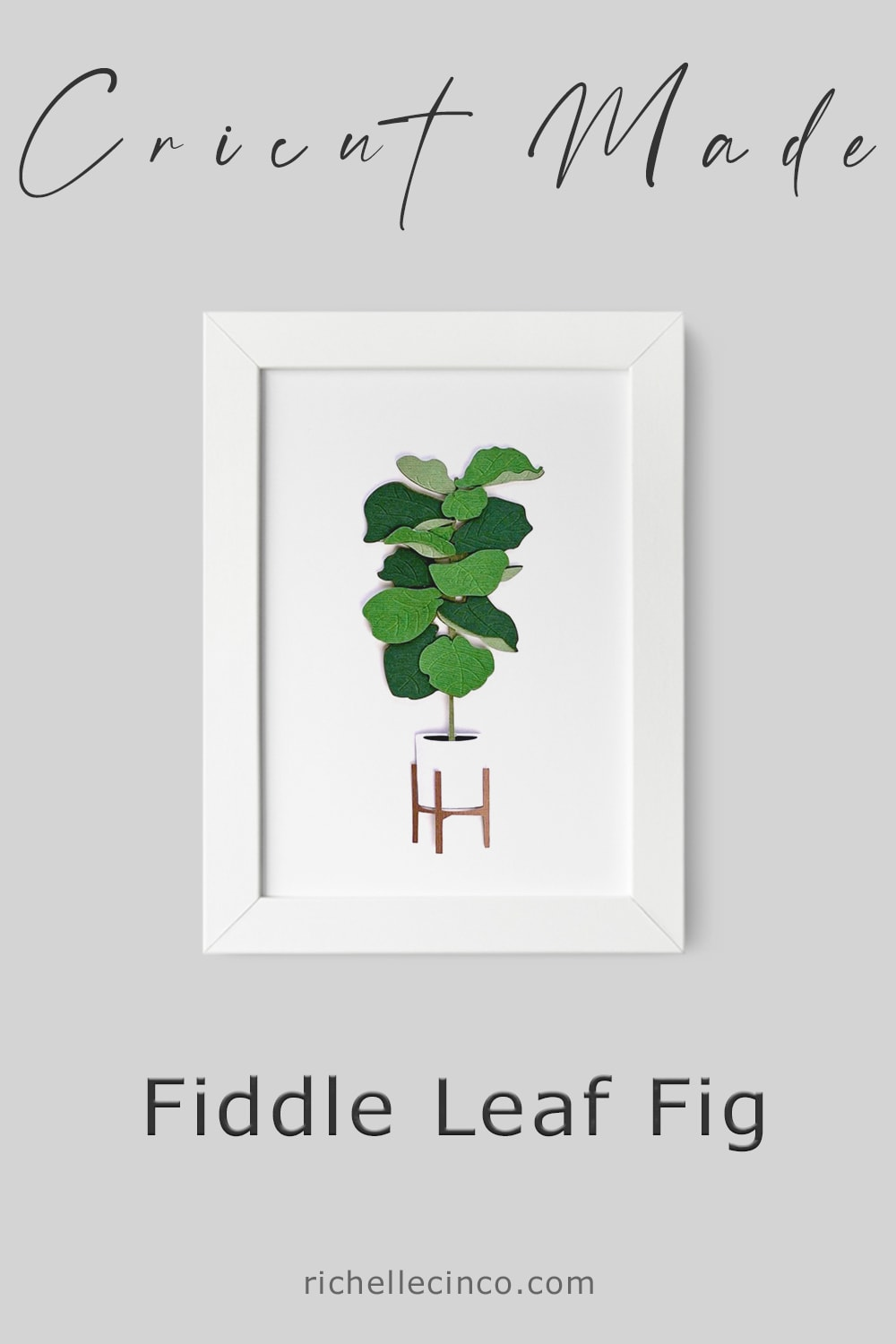 Fiddle Leaf Fig In A Frame