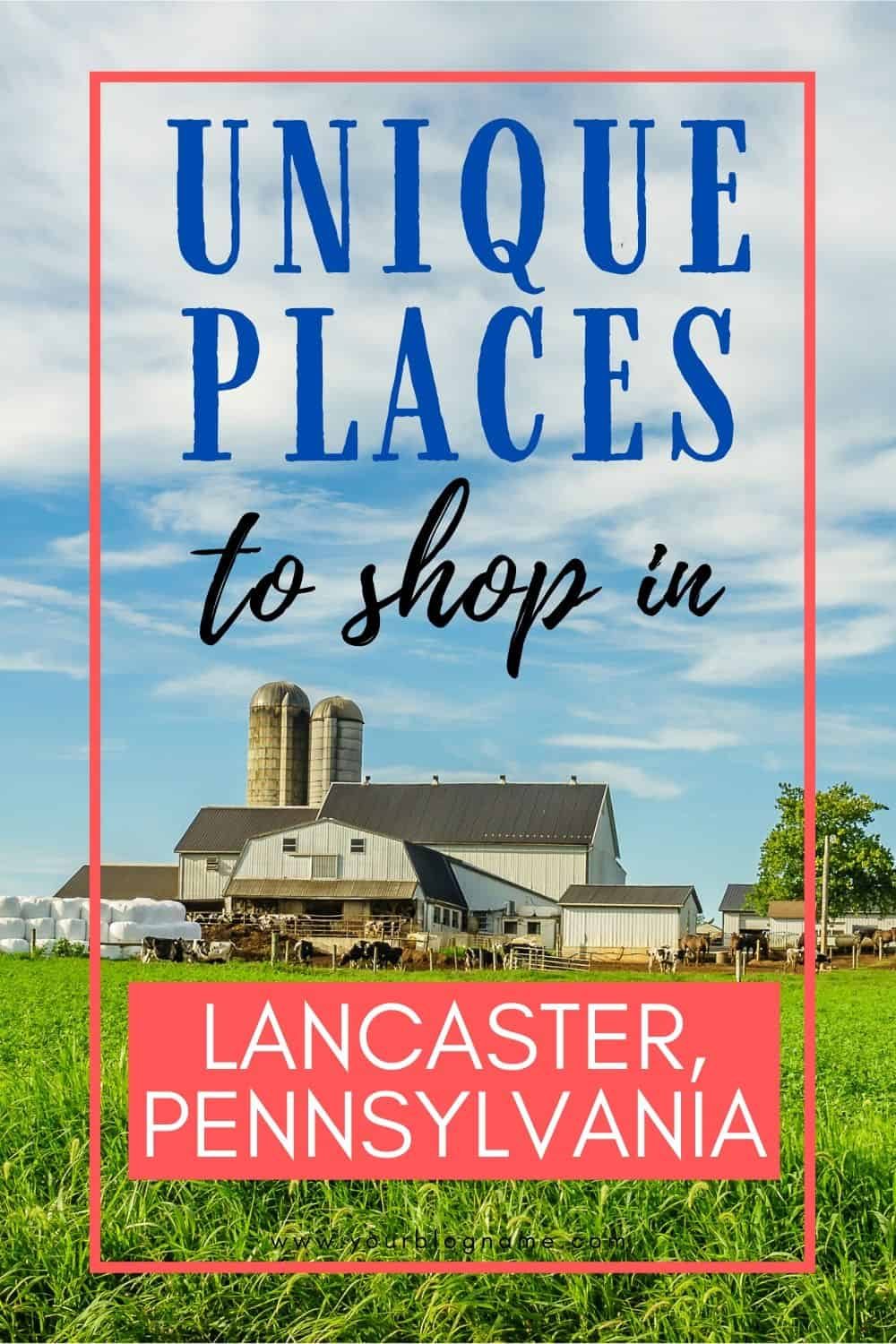 From shopping to sightseeing, there is so much to do in Lancaster, PA. Here are my favorite Unique Places To Shop In Lancaster County, PA.Lancaster, Pennsylvania is one of my favorite places to visit. Home to the Pennsylvania Dutch, or Amish, this county is peaceful, quint and full of lots of wonderful shopping experiences. #lancasterpa #familytravel #pennsylvania #pennsylvaniadutch