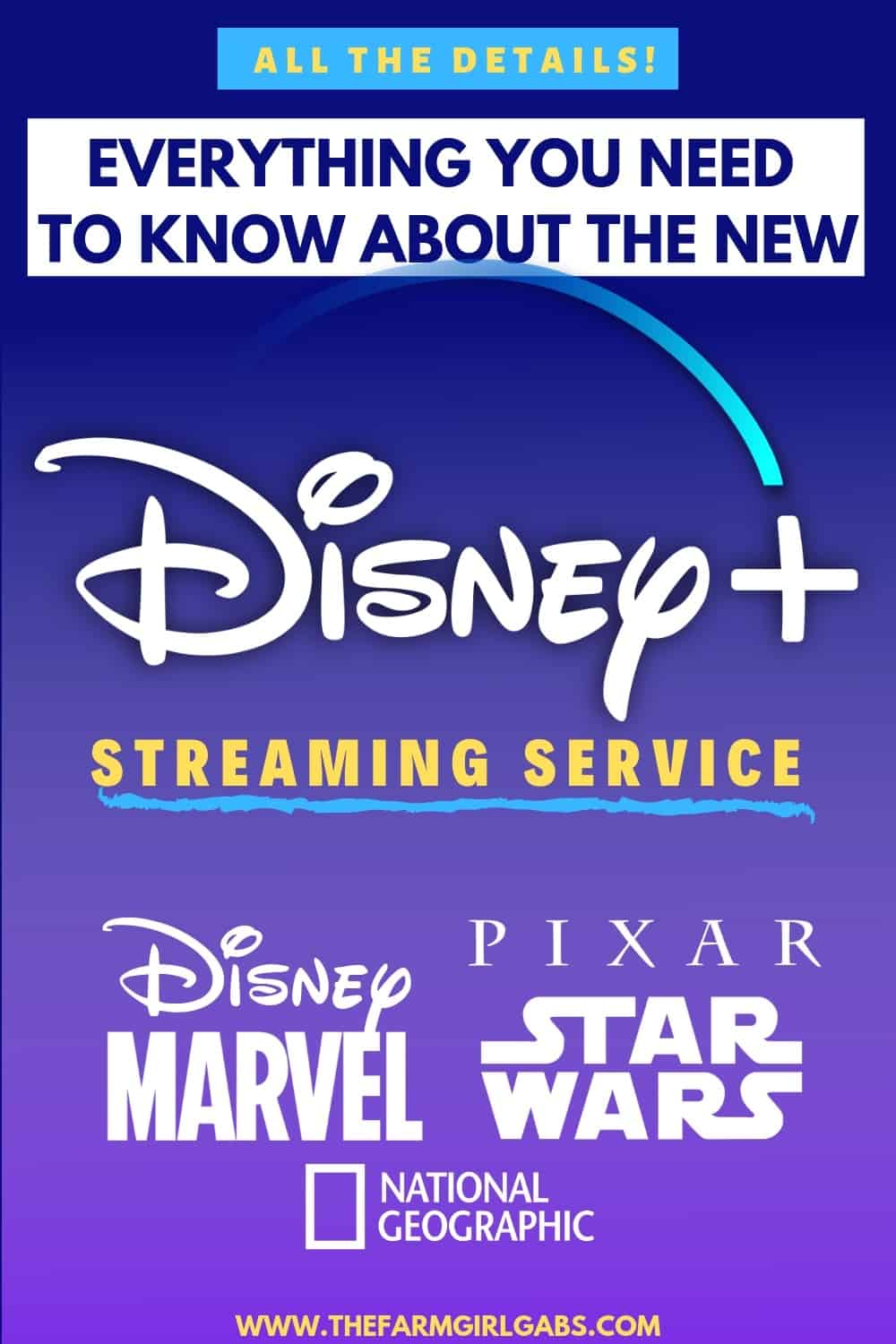 There is a new streaming service in town. Here is everything you need to know about the NEW Disney Plus Streaming Service which launches on November 12, 2019. #disneyplus #Disney+ #DisneyMovies #Marvel #StarWars #pixar