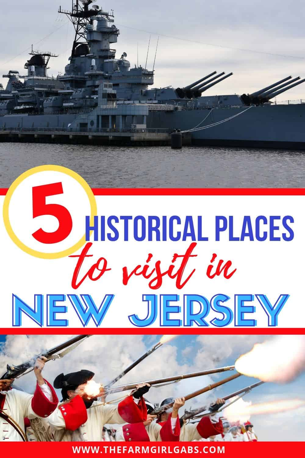 Looking for a few fun family day trips in New Jersey? Check out these Historic Places To Visit In New Jersey. #newjersey #visitnewjersey #familytravel #history