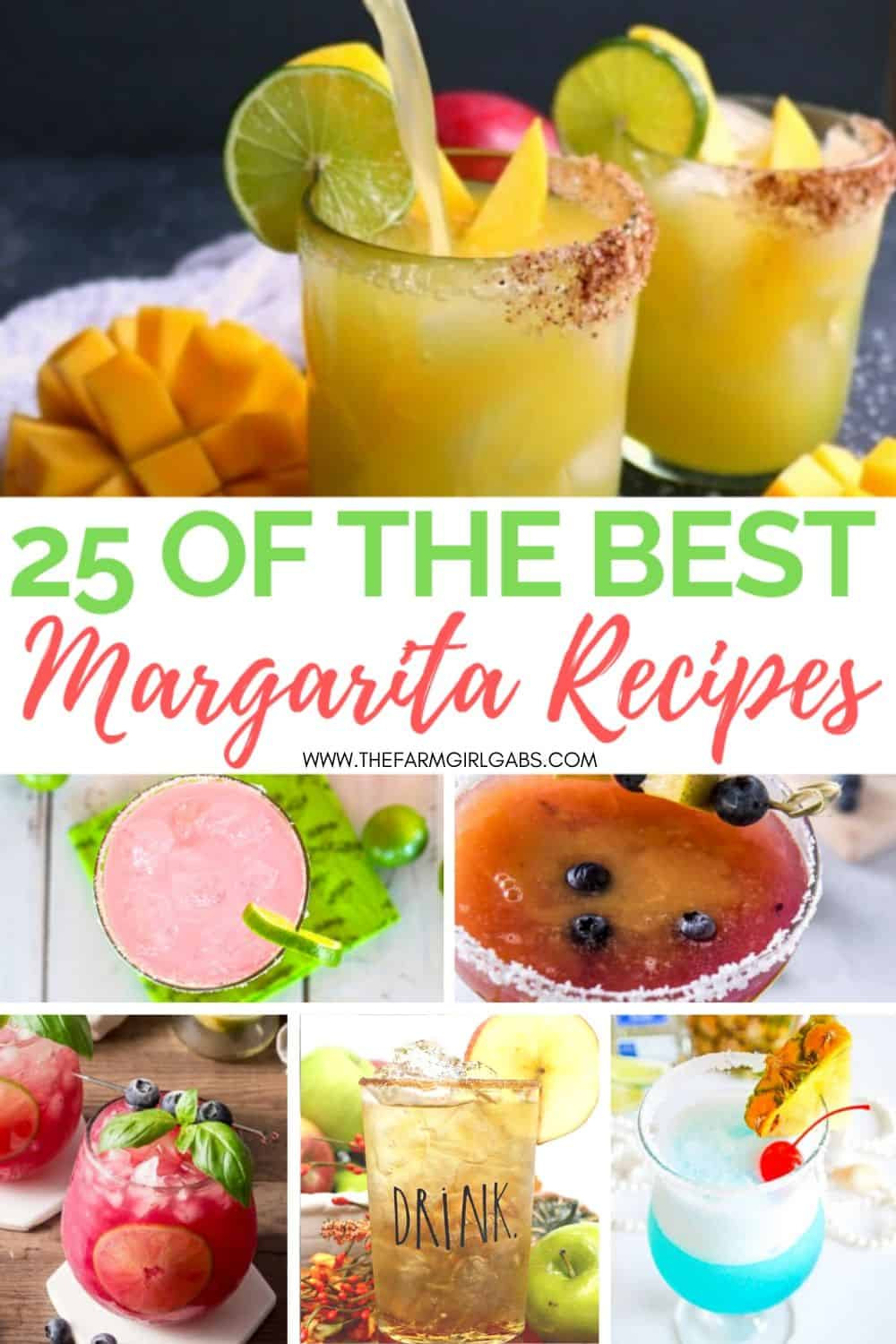 Toast National Margarita day with one of these Best Margarita Recipes. These refreshing margarita cocktail recipes are great to serve all year long.