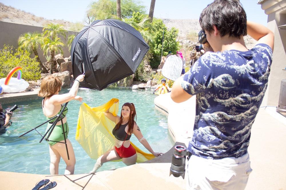 The Geek Lyfe Cosplay Swim Suit Shoot