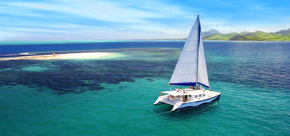 Catamaran tour mauritius
