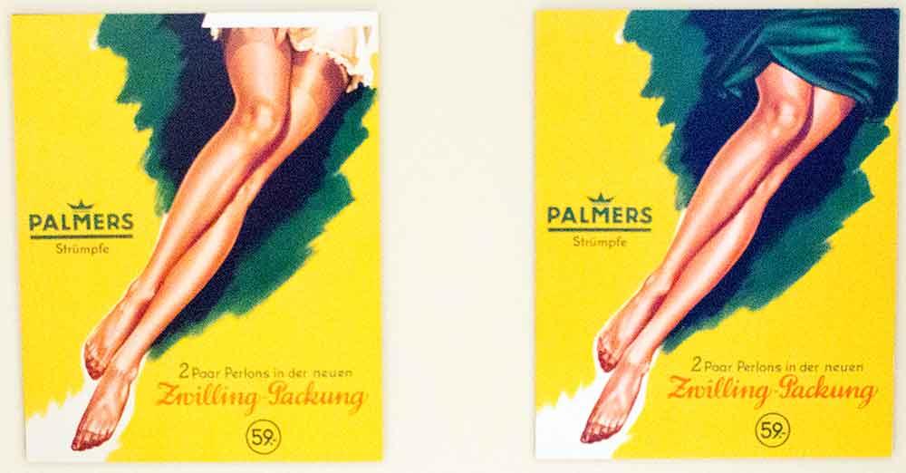 Palmers Strumpfwerbung