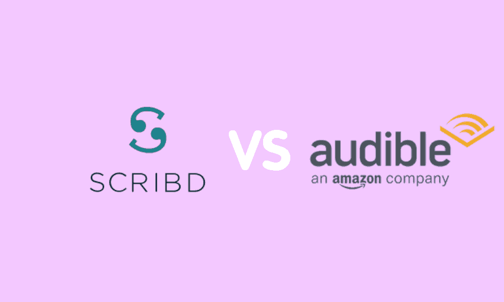 Scribd vs Audible