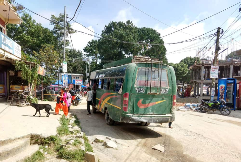 Nagarkot Bus Station
