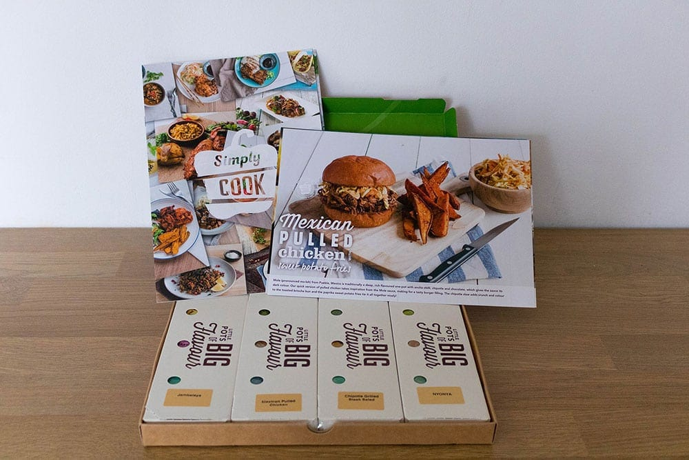 Simply Cook Review - The contents of trial box | AmateurChef.co.uk
