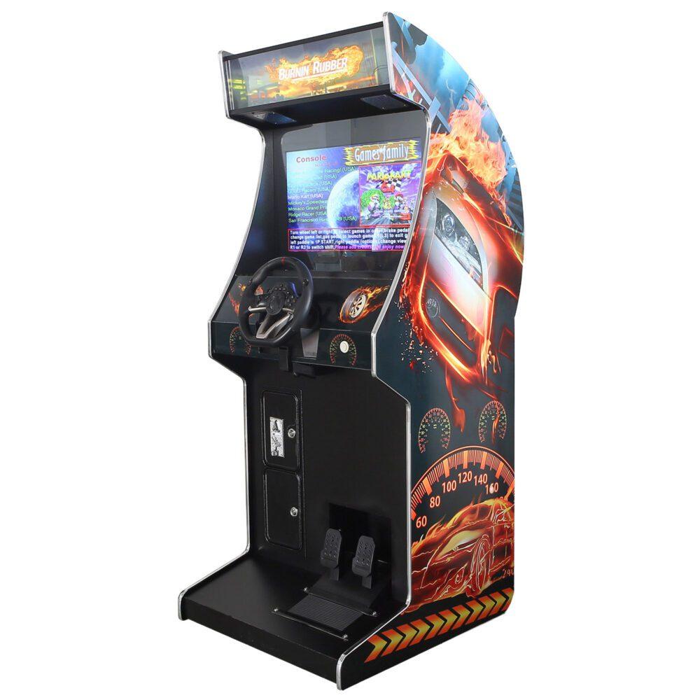Arcade Rewind 107 Game Driving Upright Arcade Machine