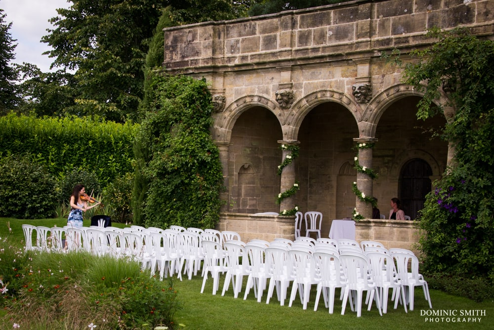 Nymans Wedding Venue Setup