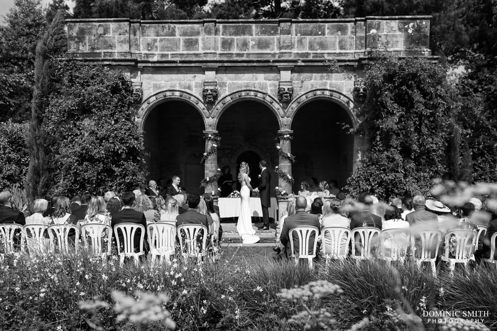 Wedding Ceremony at Nymans
